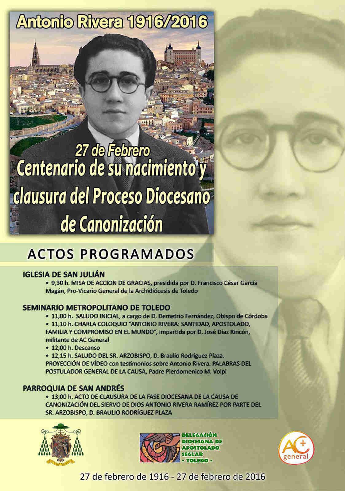 Centenario Nacimiento Antonio Rivera