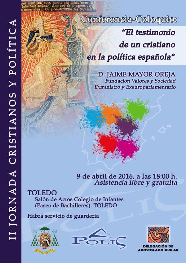 Conferencia-Coloquio Jaime Mayor Oreja