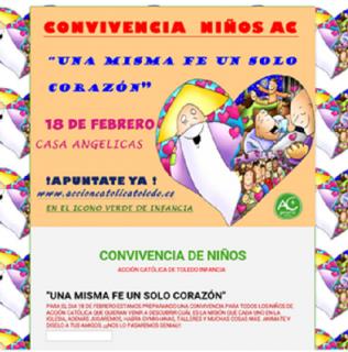 CONVIVENCIA NIÑOS ACG DE TOLEDO