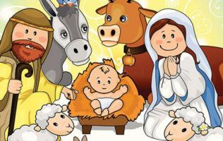 Convivencia de Navidad para niños y niñas