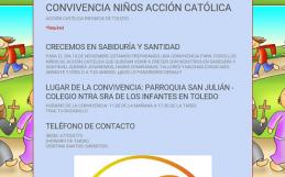 CONVIVENCIA DE NIÑOS ACG DE TOLEDO