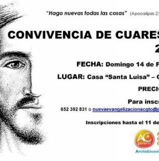 Convivencia de Cuaresma en Chueca