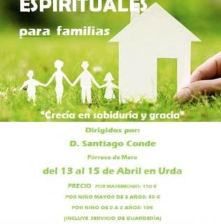 EJERCICIOS ESPIRITUALES PARA FAMILIAS EN URDA