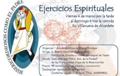 Ejercicios espirituales en Villanueva de Alcardete