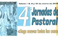 """IV Jornadas de Pastoral """"Hago nuevas todas las cosas"""""""