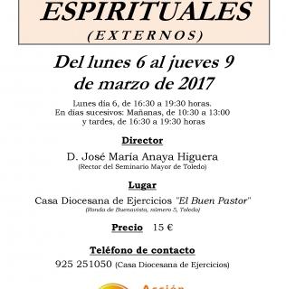 Ejercicios Espirituales  Externos ACG de Toledo