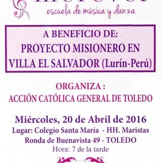PROYECTO MISIONERO EN VILLA EL SALVADOR (Lurín-Perú)