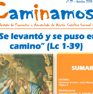 Revista CAMINAMOS nº 29. Octubre 2018. Acción Católica General de Toledo